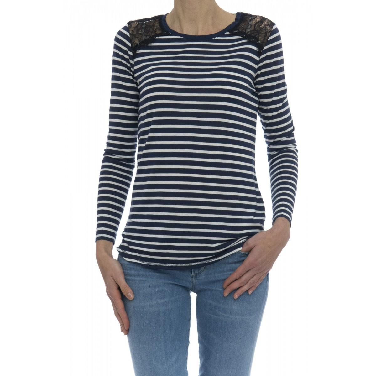T-shirt donna - 17215 t-shirt m-l modal