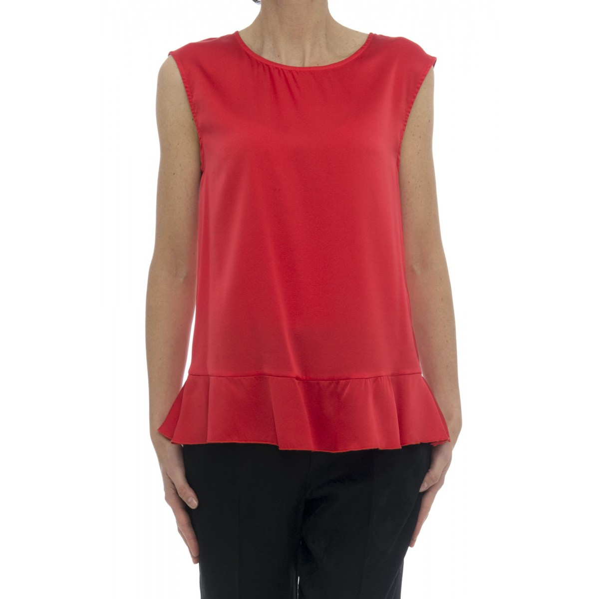 T-shirt donna - 3941/30 canotta seta
