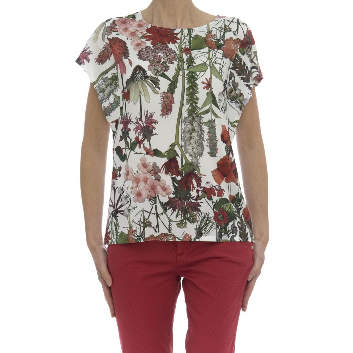 T-shirt - 3593/30 t-shirt viscosa seta