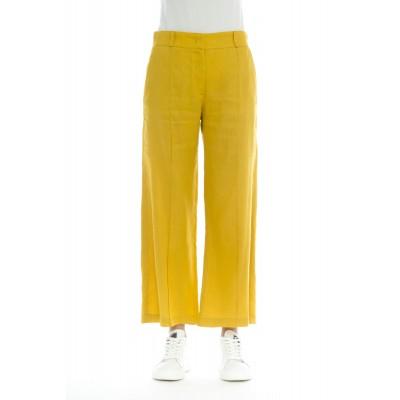 Pantalone donna - 201 t32 pantalone lino