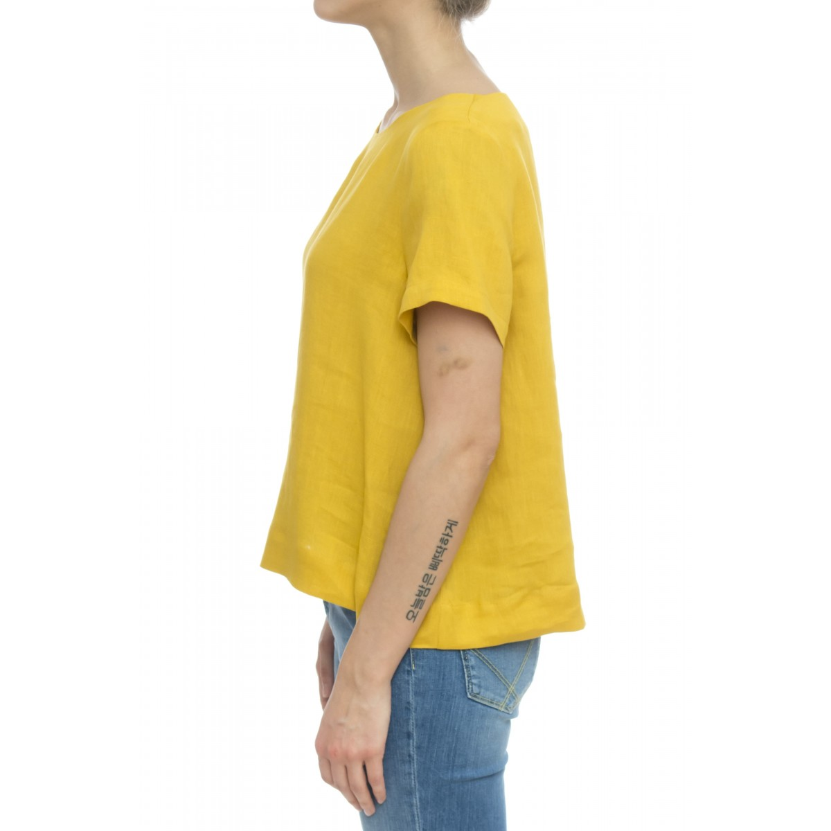 Camicia donna - 606 t32 camicia lino