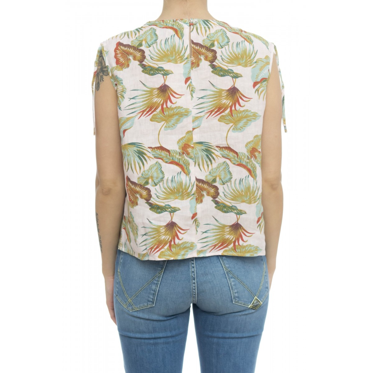 Camicia donna - Eliana 5290 camicia stampa