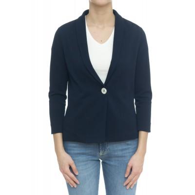 Giacca donna - Fd1544 giacca collo scialle 1 bottone