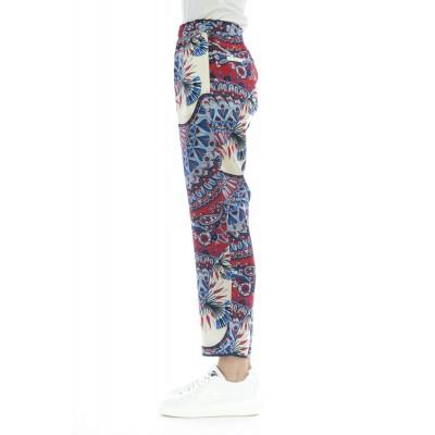 Pantalone donna - J4029 stampa pantalone