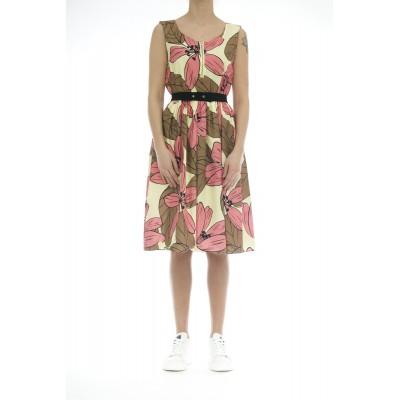 Vestito - J7055 abito stampa fiori