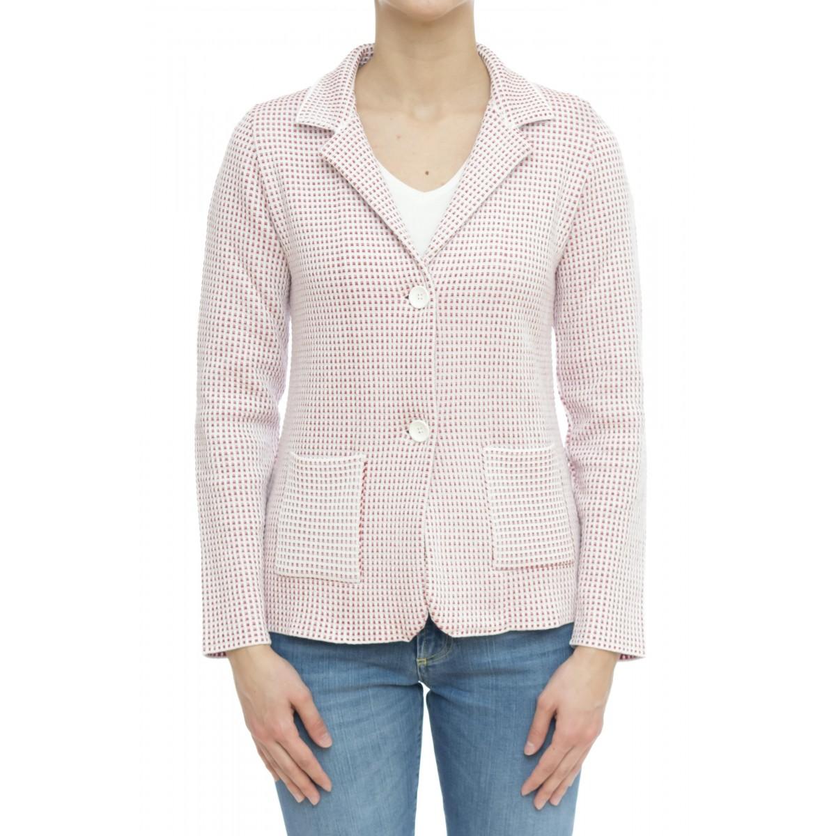 Giacca donna - 2025 giacca cotone quadretto