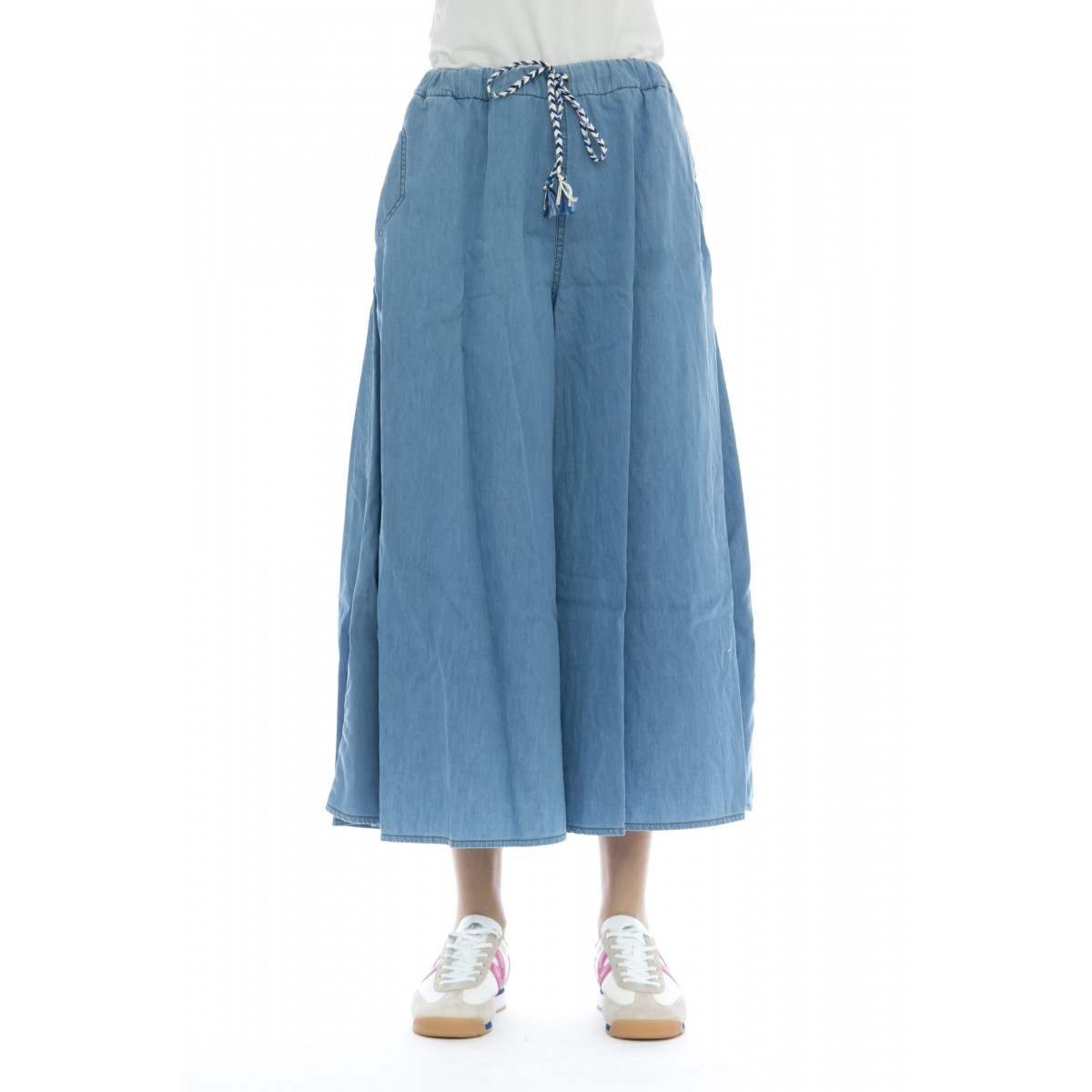 Jeans - Pant re-iusse coulisse