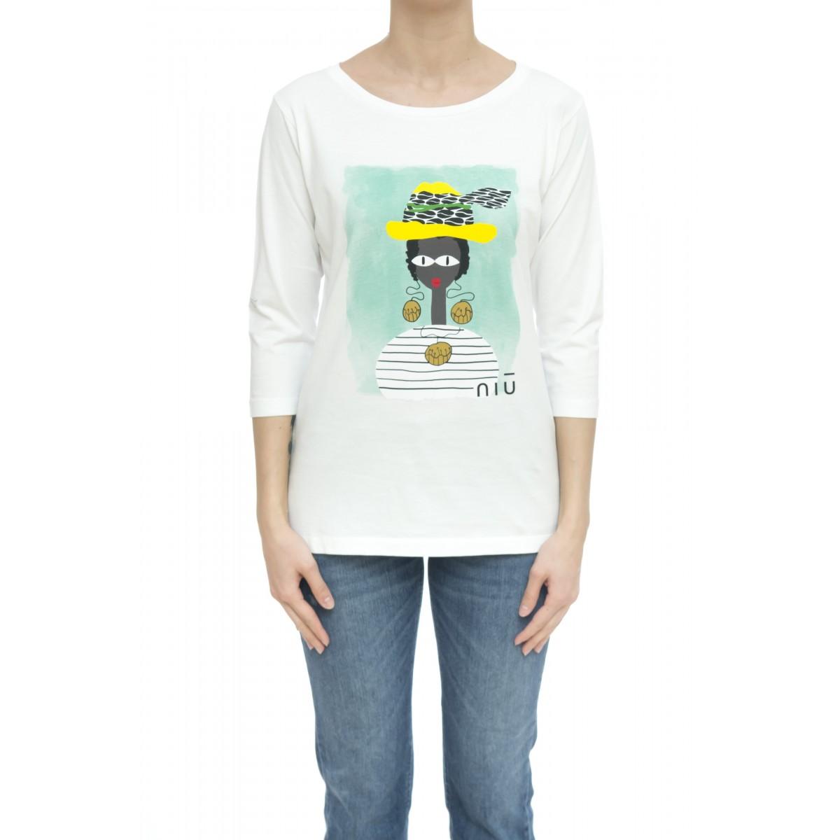 T-shirt - 595 j03 t-shirt 3/4