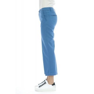 Pantalone donna - Elena 5246 vita alta misto lino