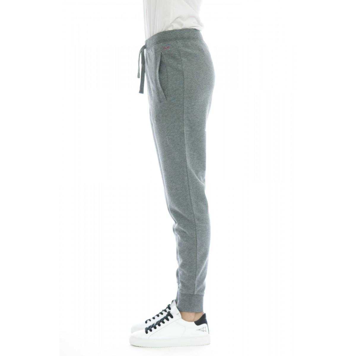 Pantalone donna - F30206 pantalone tuta jogging