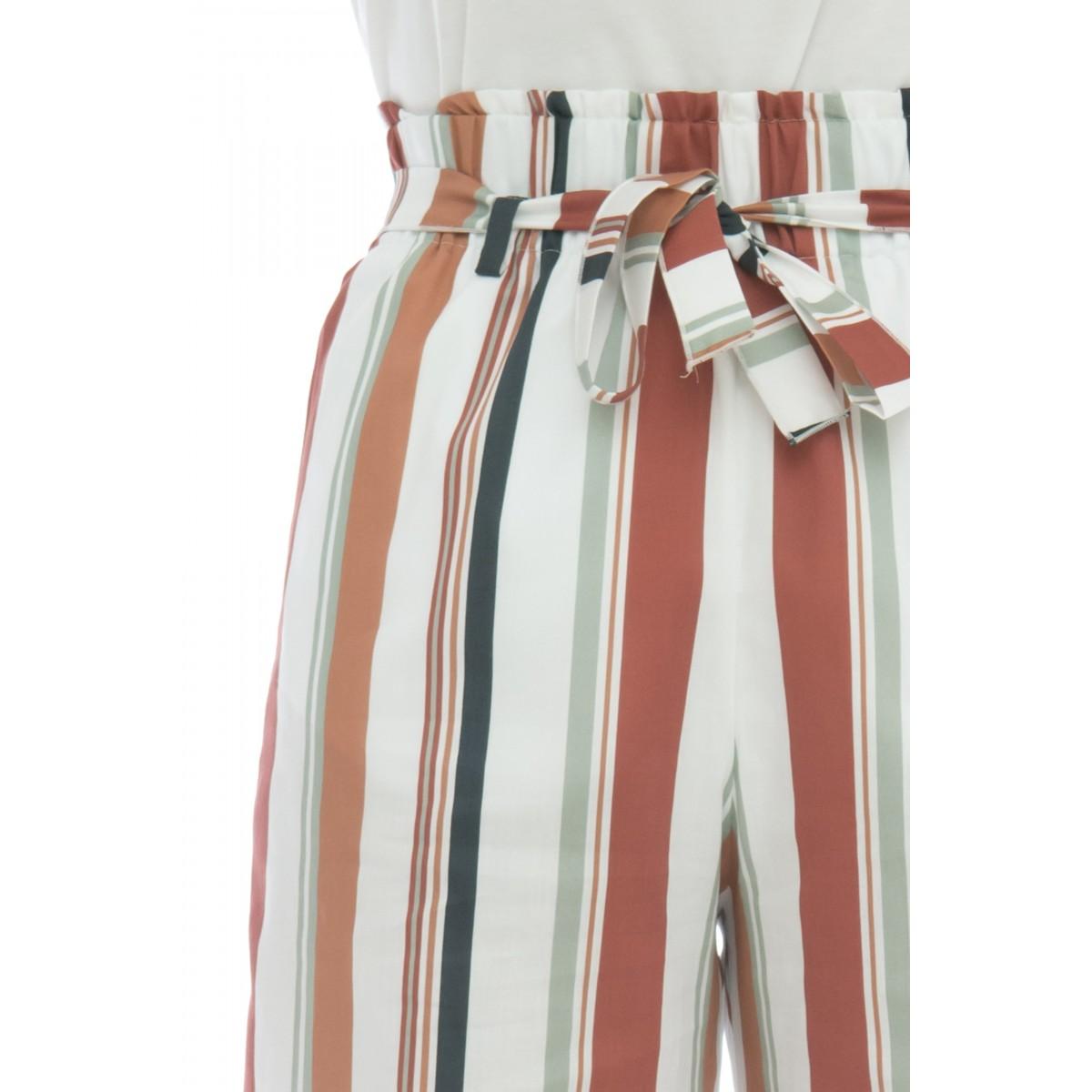 Pantalone donna - Letizia 417 rasatello light stampa baiadera