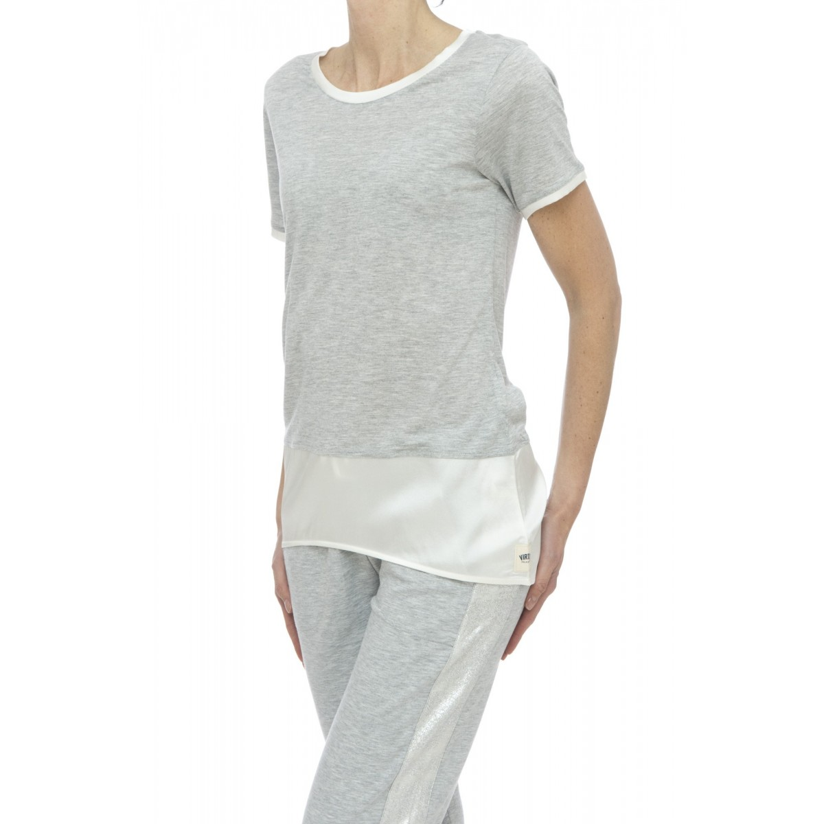 T-shirt - 518 jv22 t-shirt inserto seta
