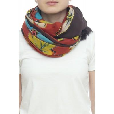 Sciarpa - Margherita 4841    100 x 190   100% cotone