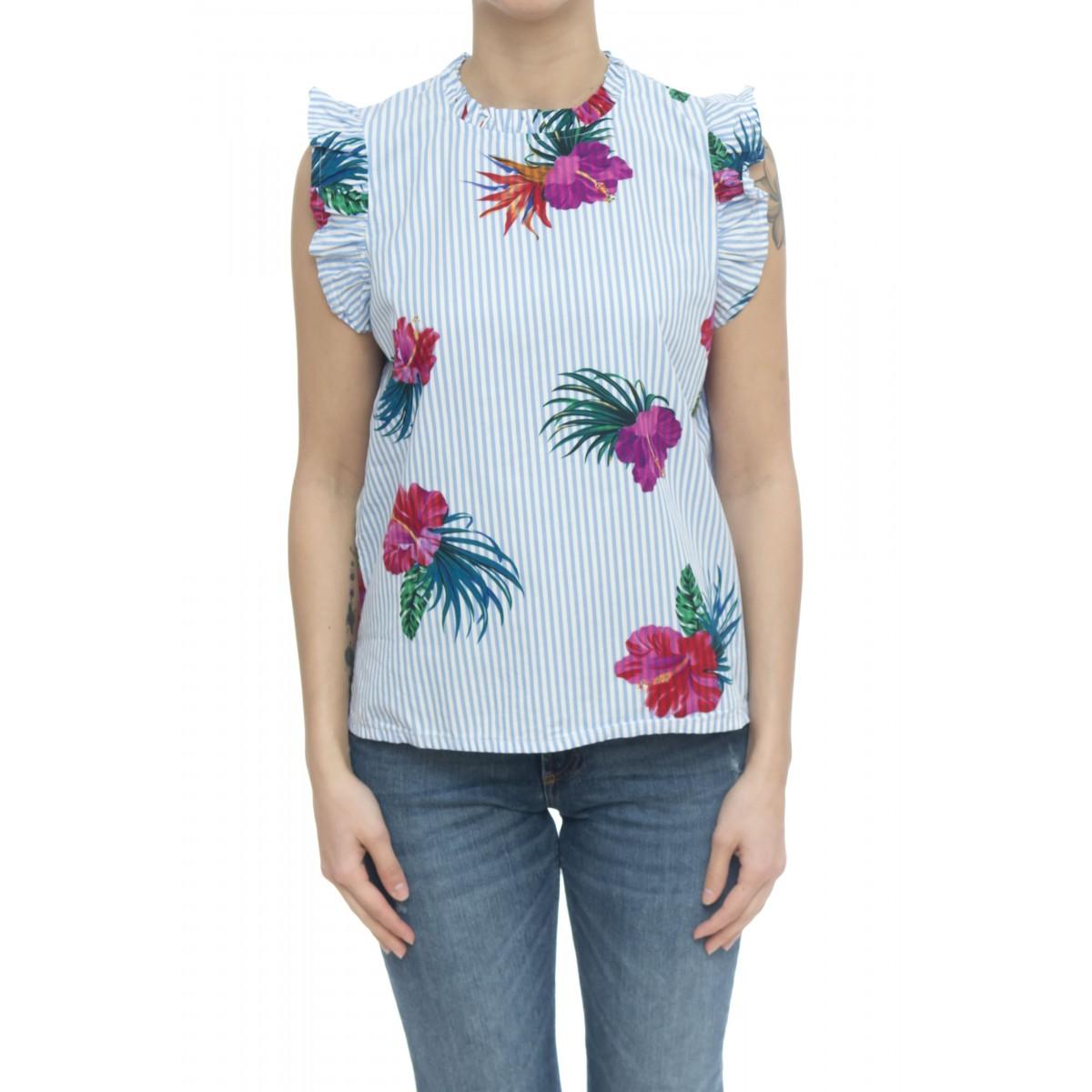 Camicia donna - S30204 camicia sm rigata