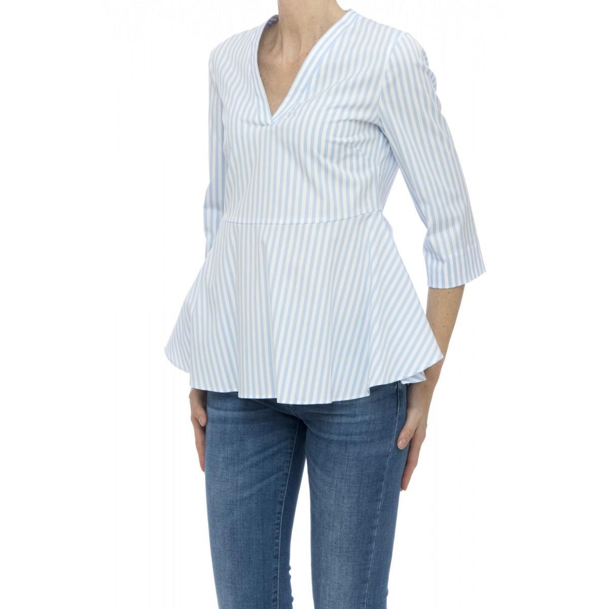 Camicia manica corta donna - R12 zit