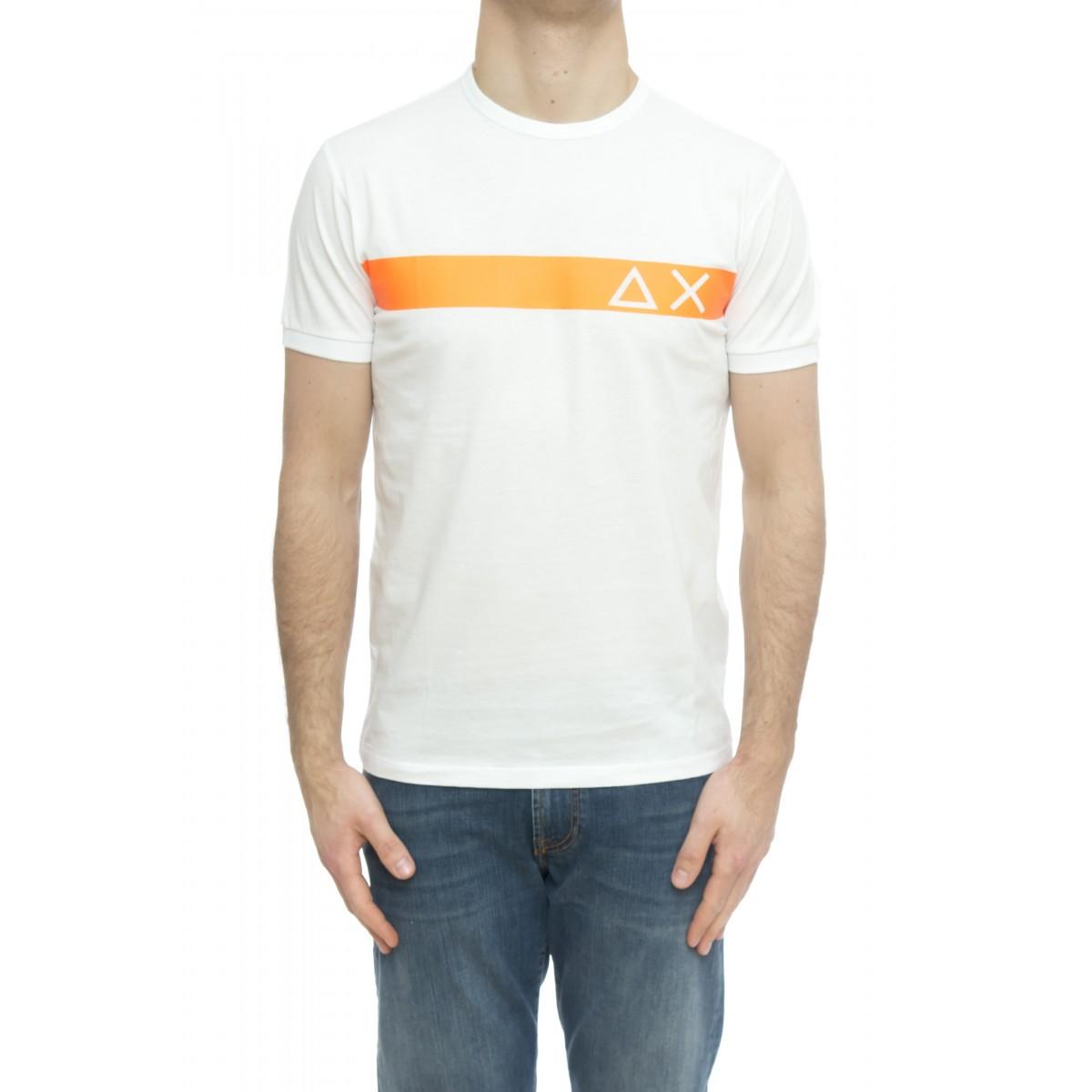 T-shirt - T30106 t-shirt banda fluo