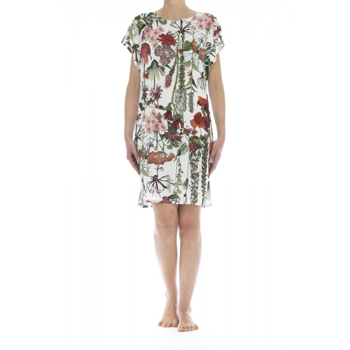 Vestito corto donna - 3593/12 abito stampa