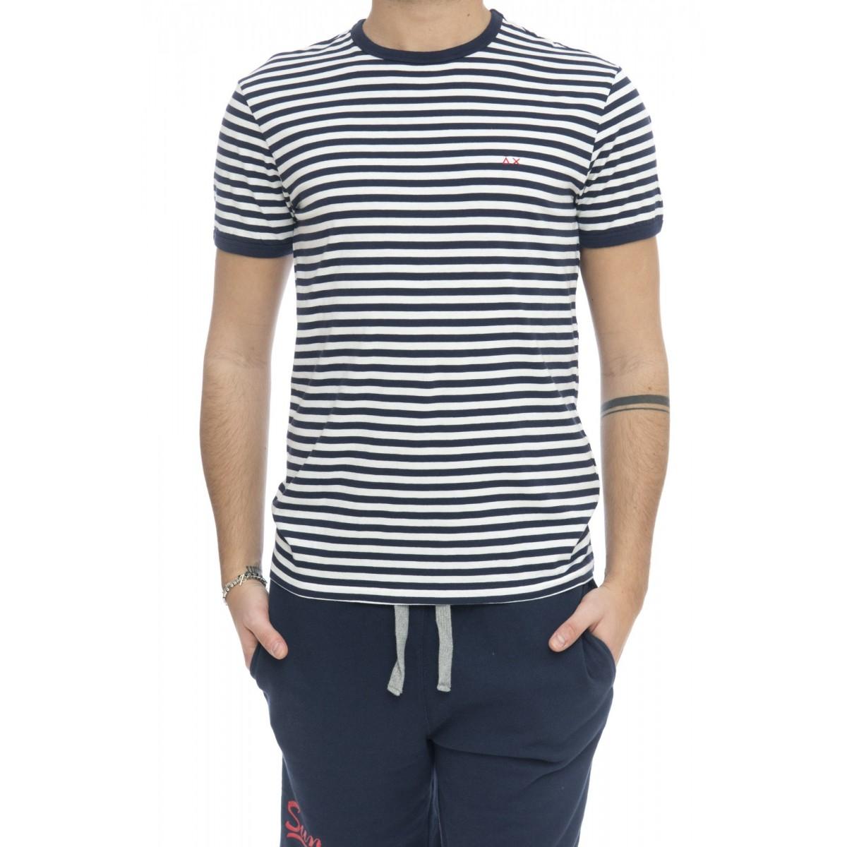 T-shirt - 17126 t-shirt rigata