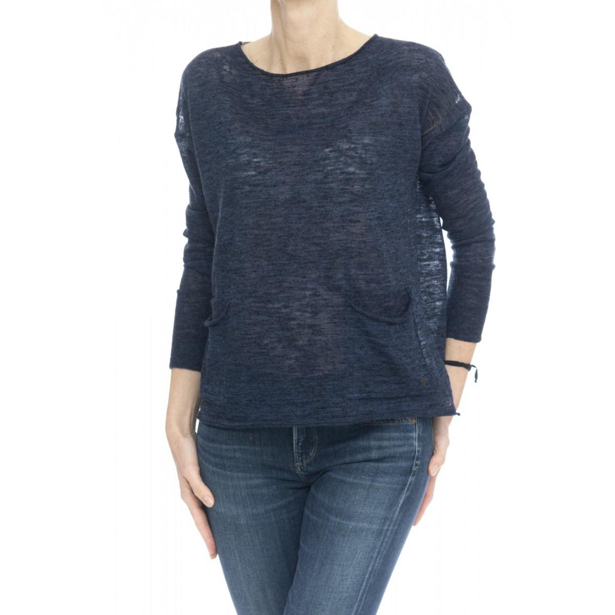 Maglieria - Fk13 maglia over tasca sottile