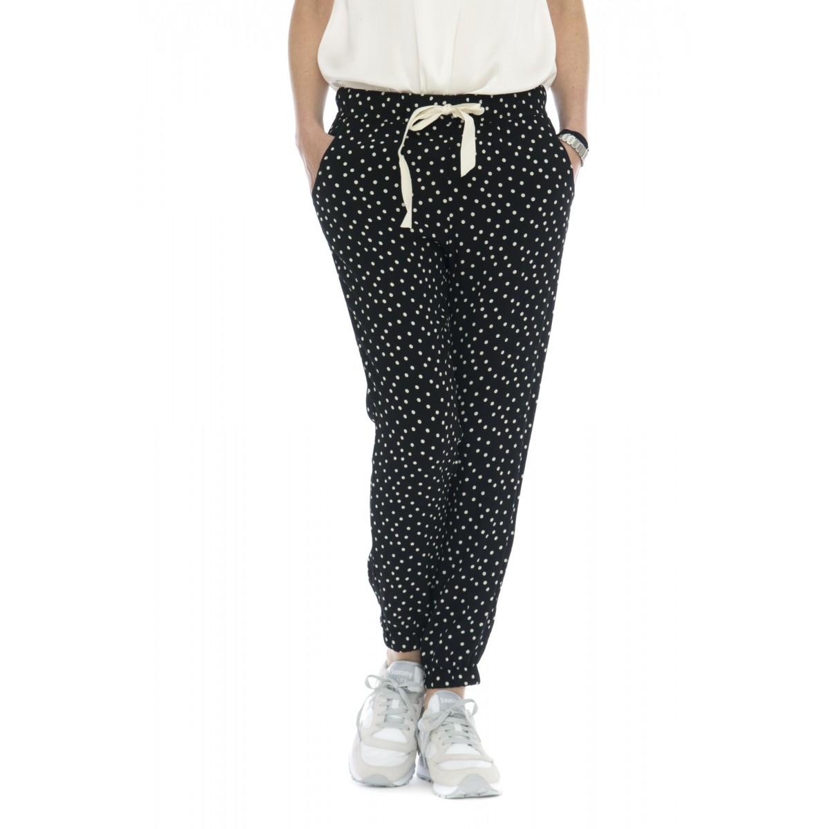 Pantalone donna - 145104 pantalone baggy jogging