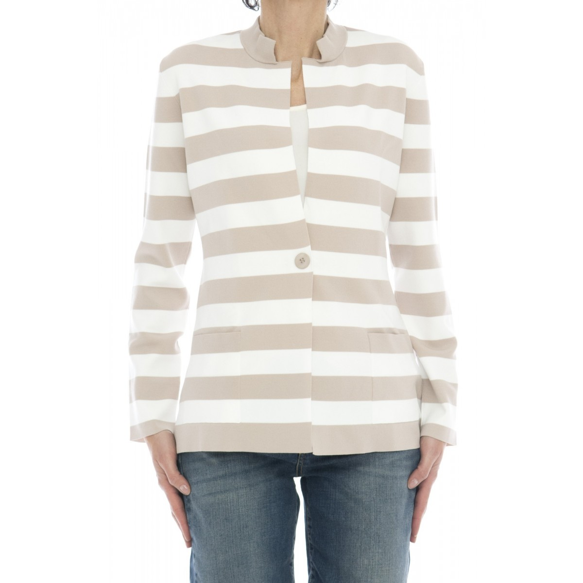 Giacca donna - 3922/57 giacca righe