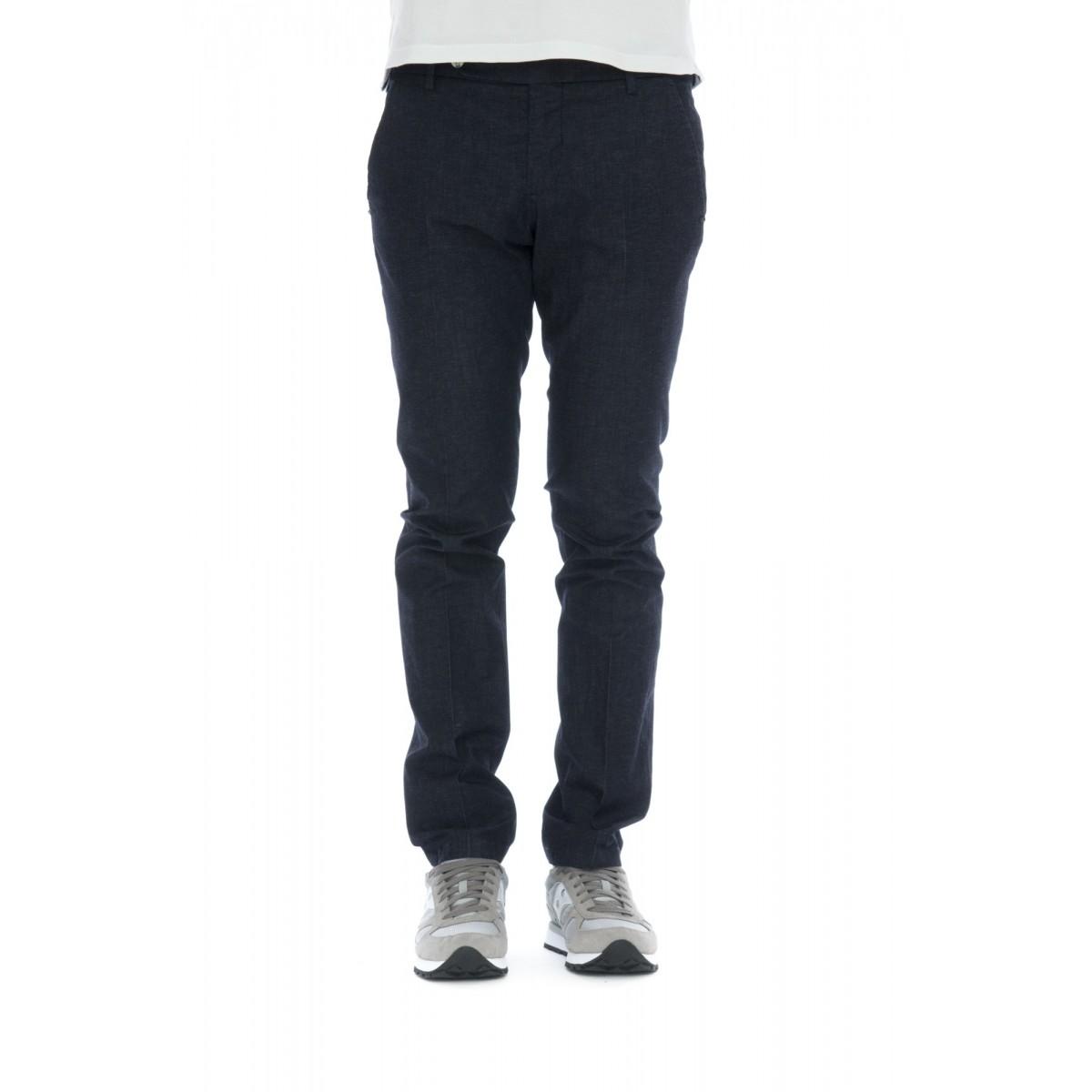 Pantaloni - 8346 1045 cotone lino