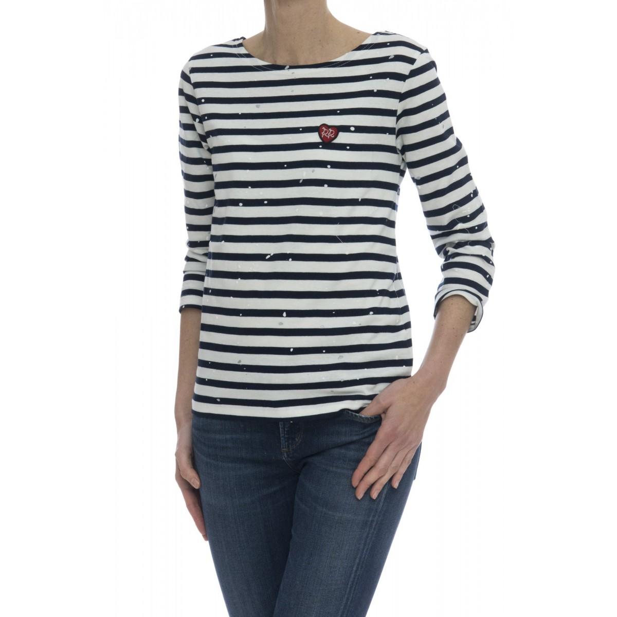 T-shirt donna - Paint silver t-shirt barca