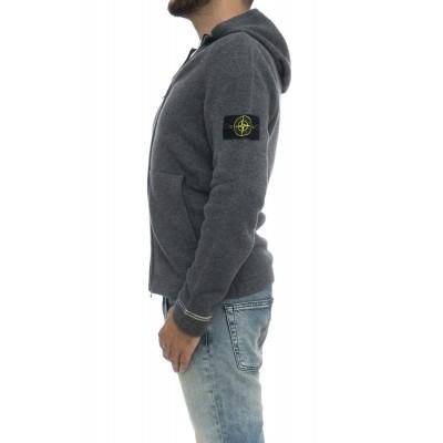 Maglia uomo - 540a3 maglia cappuccio lambswool 80% lana 20% poliamide