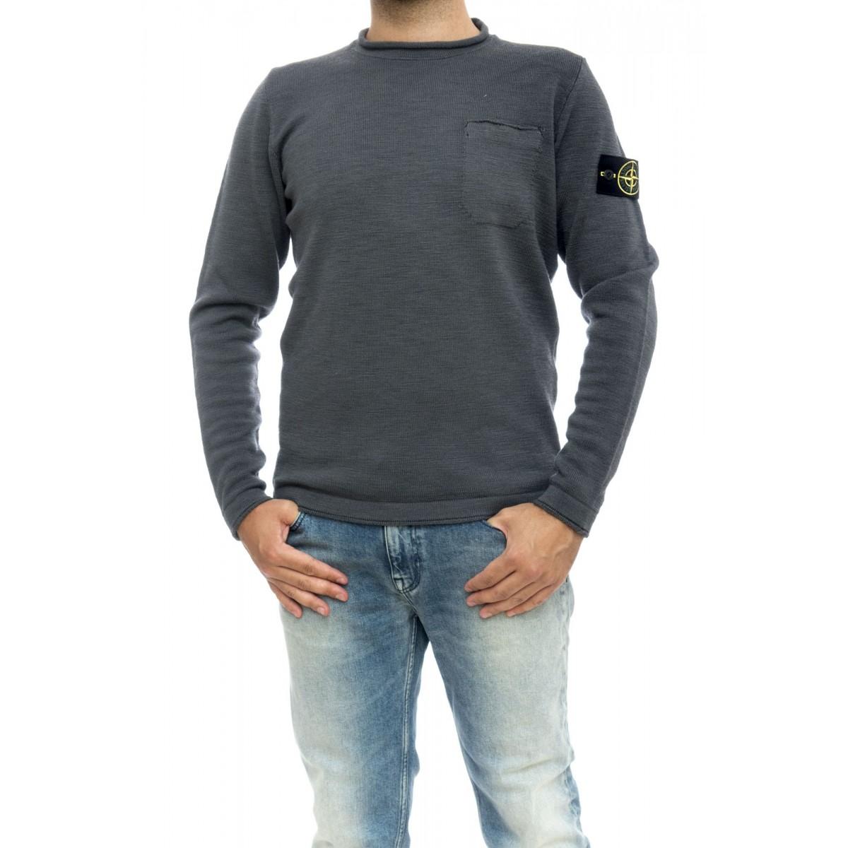 Maglia uomo - 533d7 collo rullino 100% lana