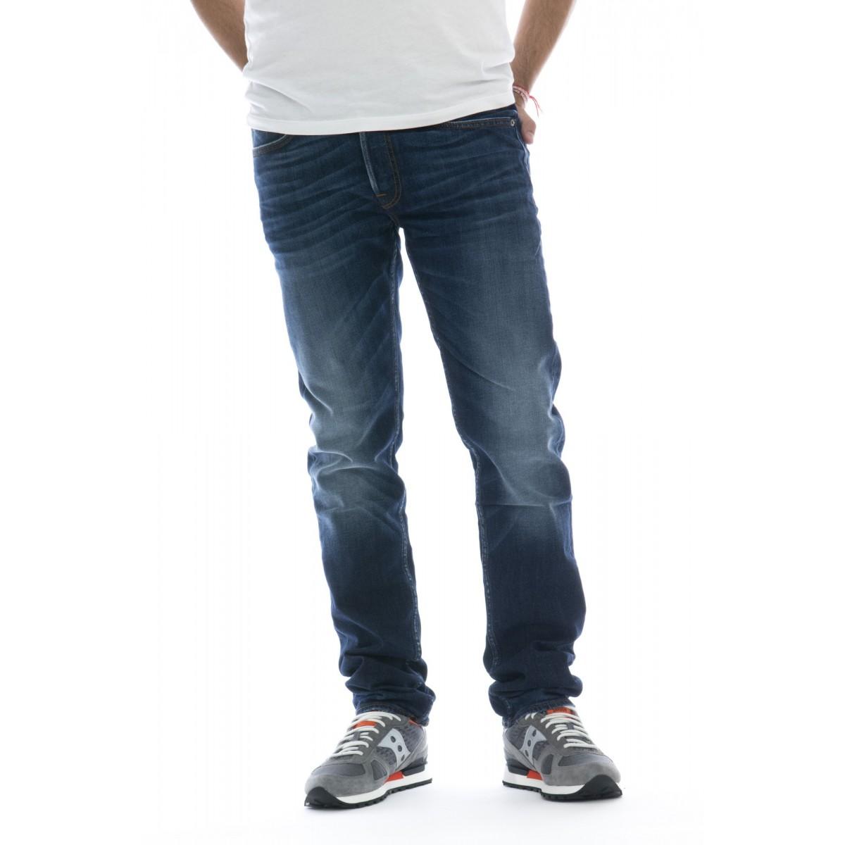 Jeans - J1bga jeans slim real 98% cotone, 2% elastane