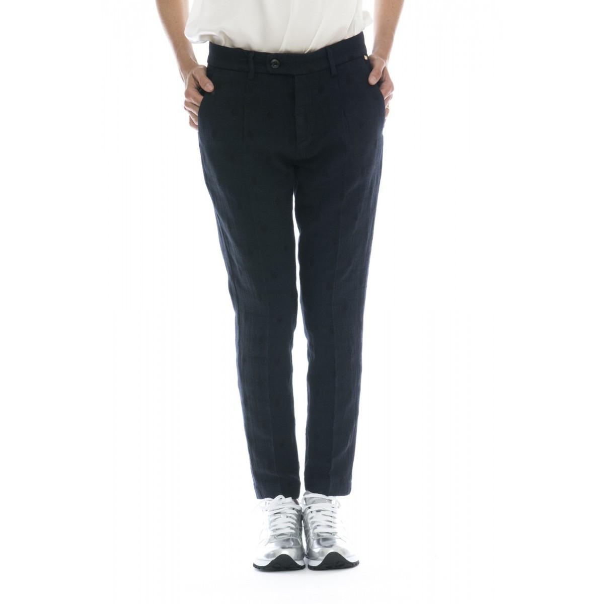 Pantalone donna - Millie pantalone spiga pois