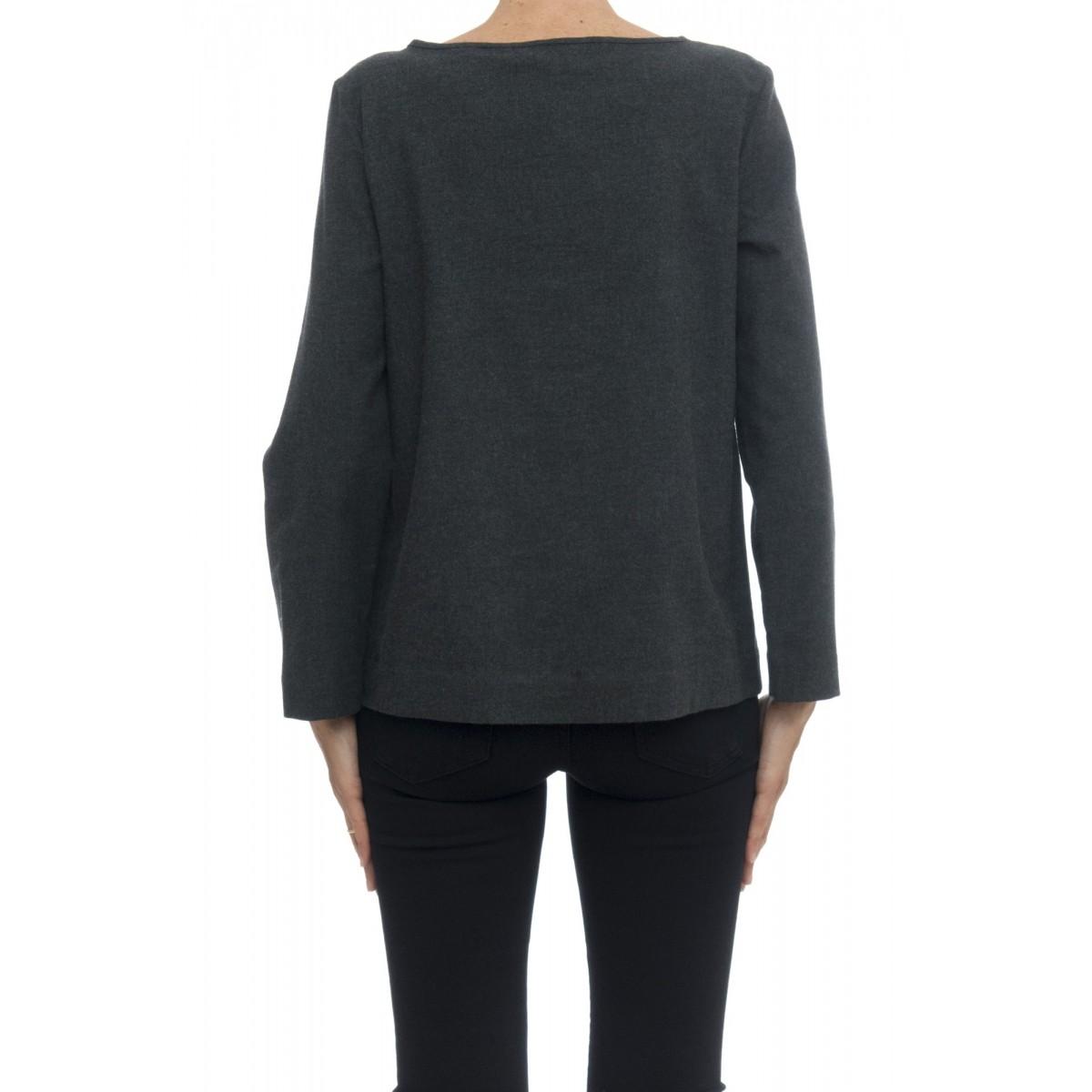 Camicia donna - Mia 95131 camicia flanella rouge