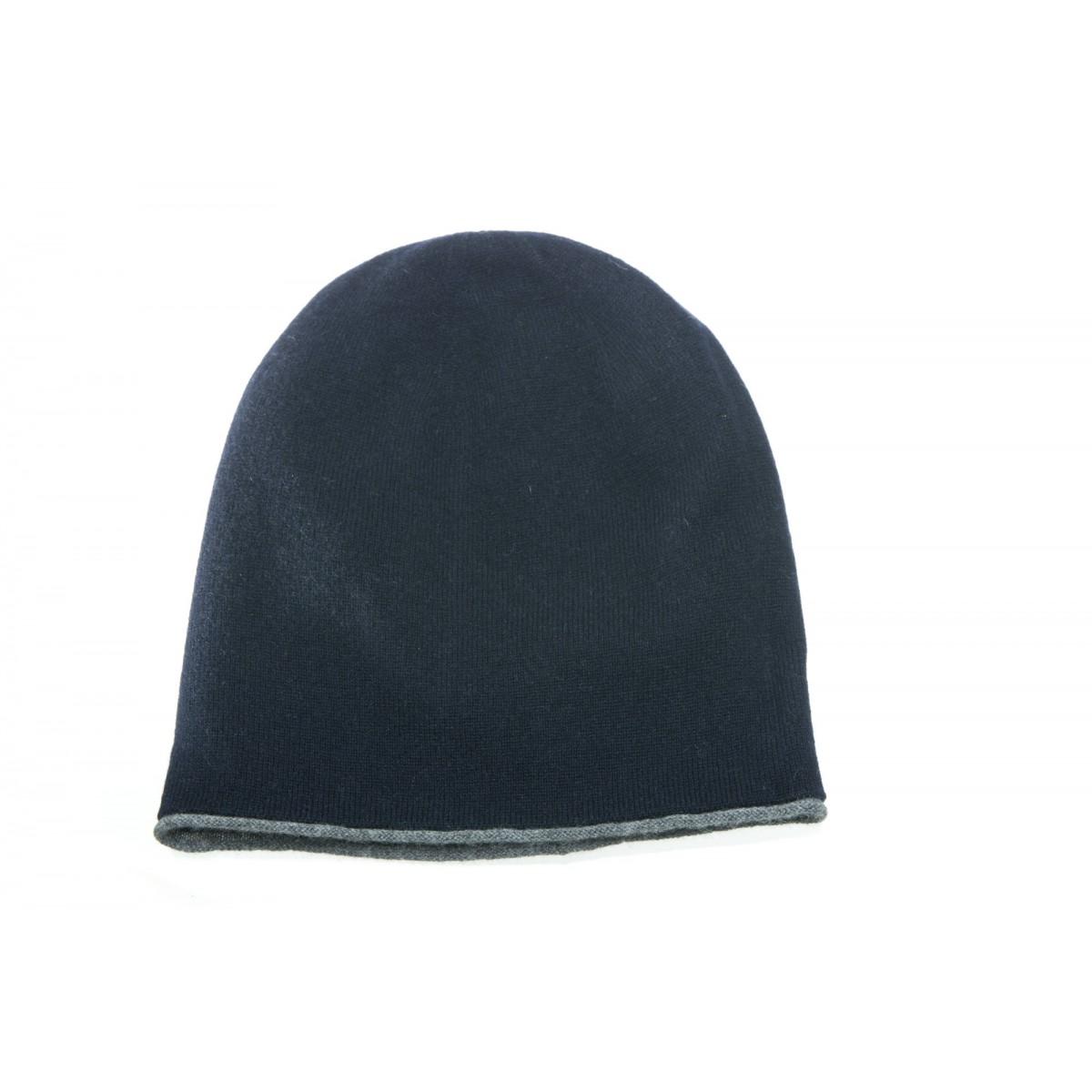 Berretto - 4047/25 berretto cashmeire reversibile
