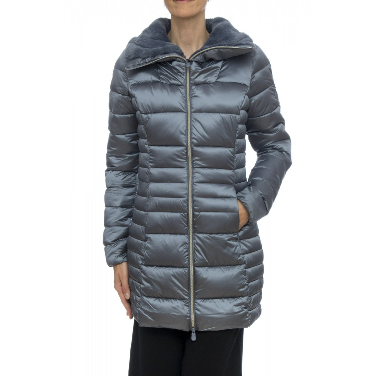Down Jacket- D4366W Iris5 nylon-satin