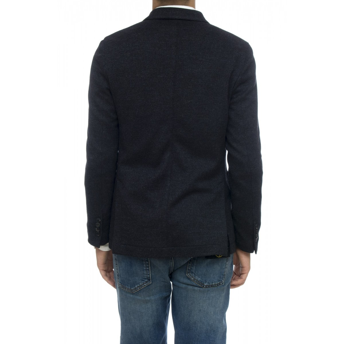 Giacca - Cn1694 giacca jersey lana