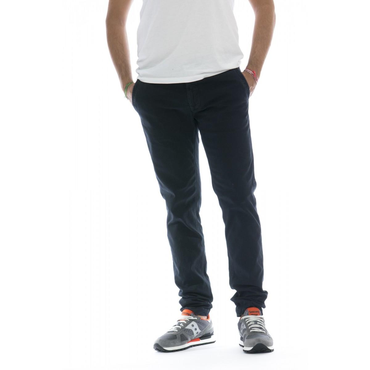 Pantaloni - 30205 pantalone slim strech cotone 98% cotone, 2% elastane