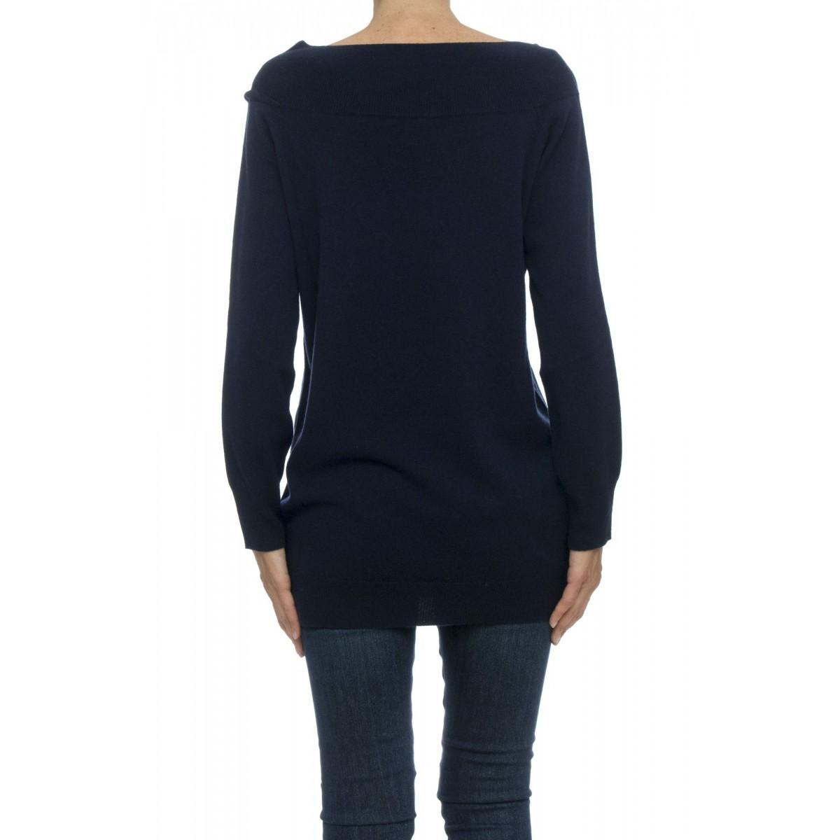 Maglia - 4516/82 maglia barchetta lunga