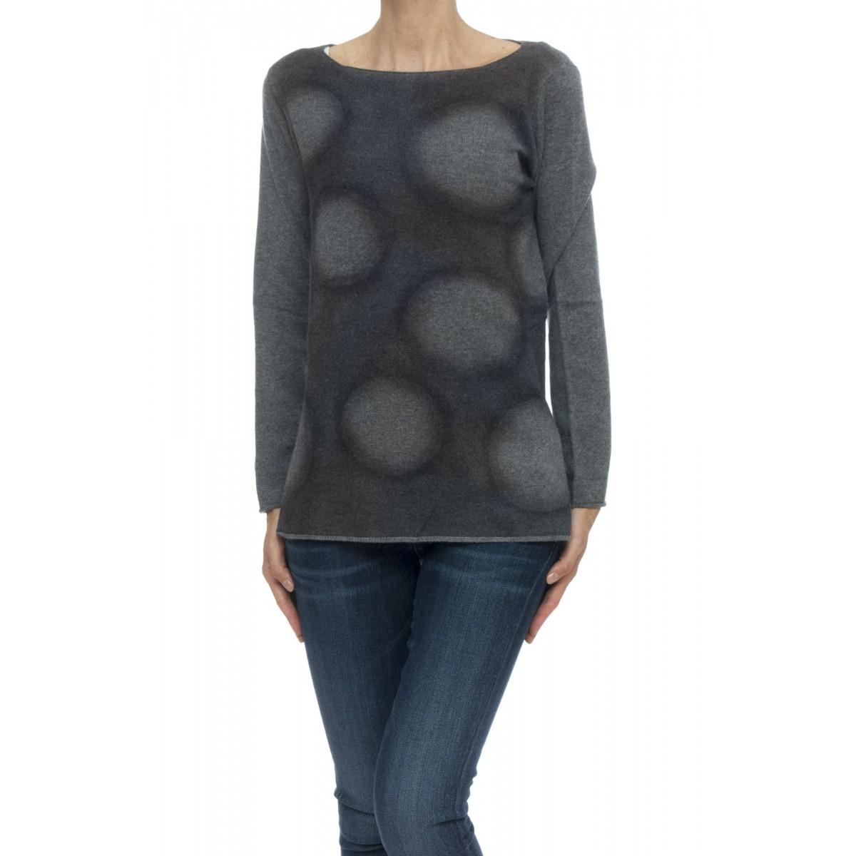 Maglia - 4575/13 maglia barchetta pois