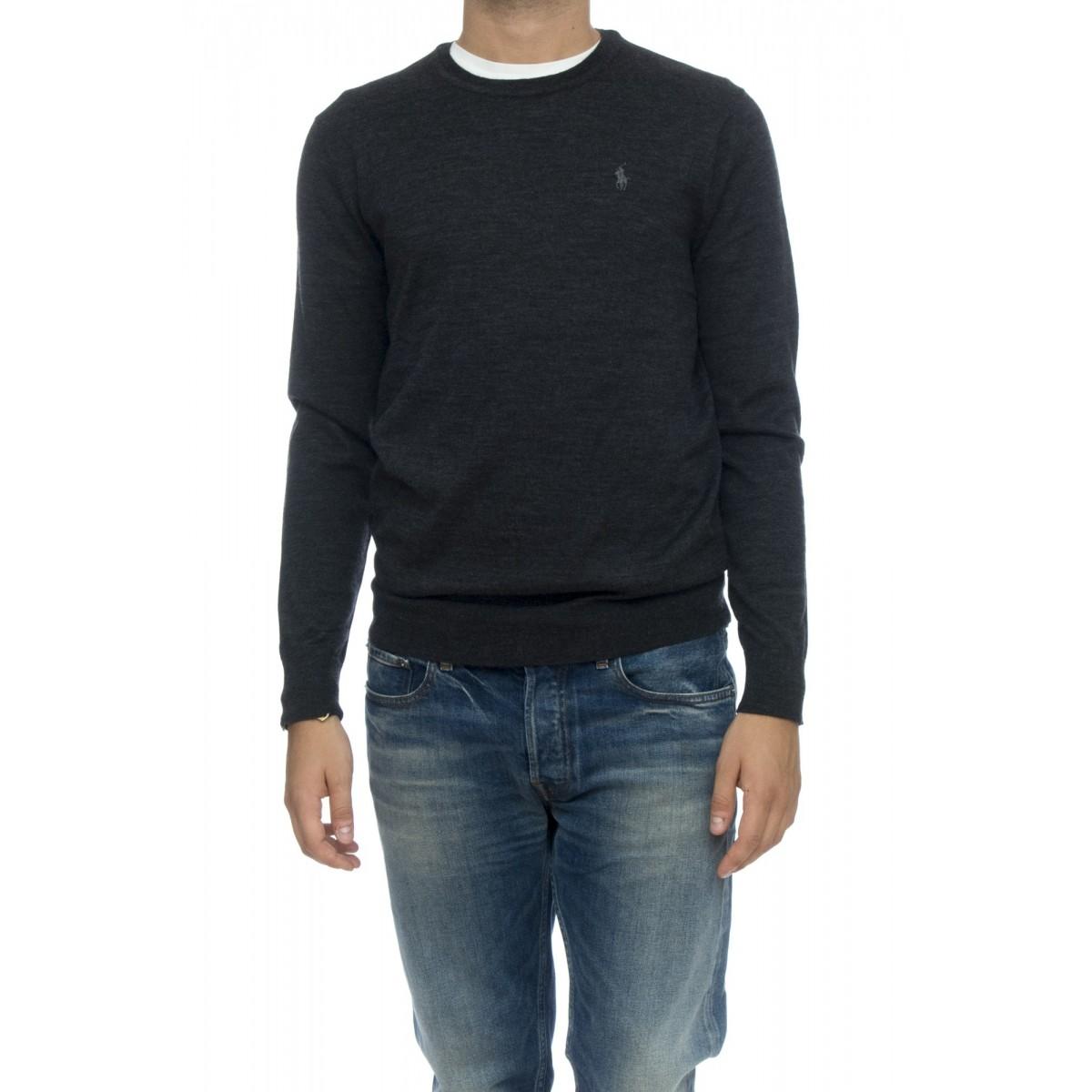 Maglia - 7106670690 maglia giro lana merinos