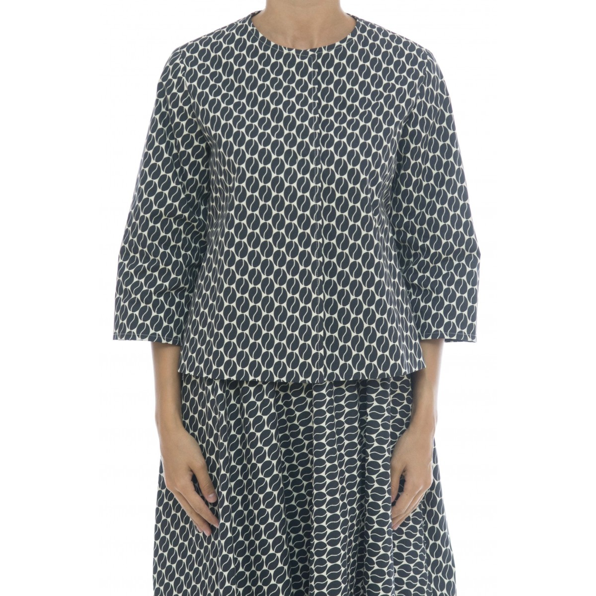 Giacca donna - 311 t0k giacca stampa