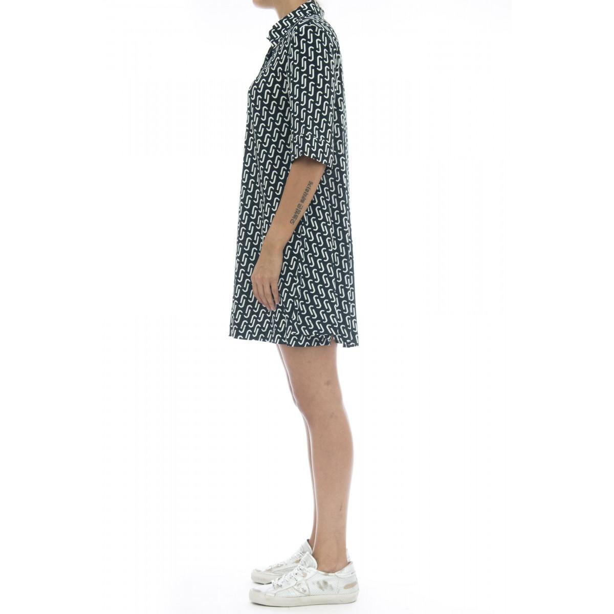 Vestito - J7052 vestito manica corta