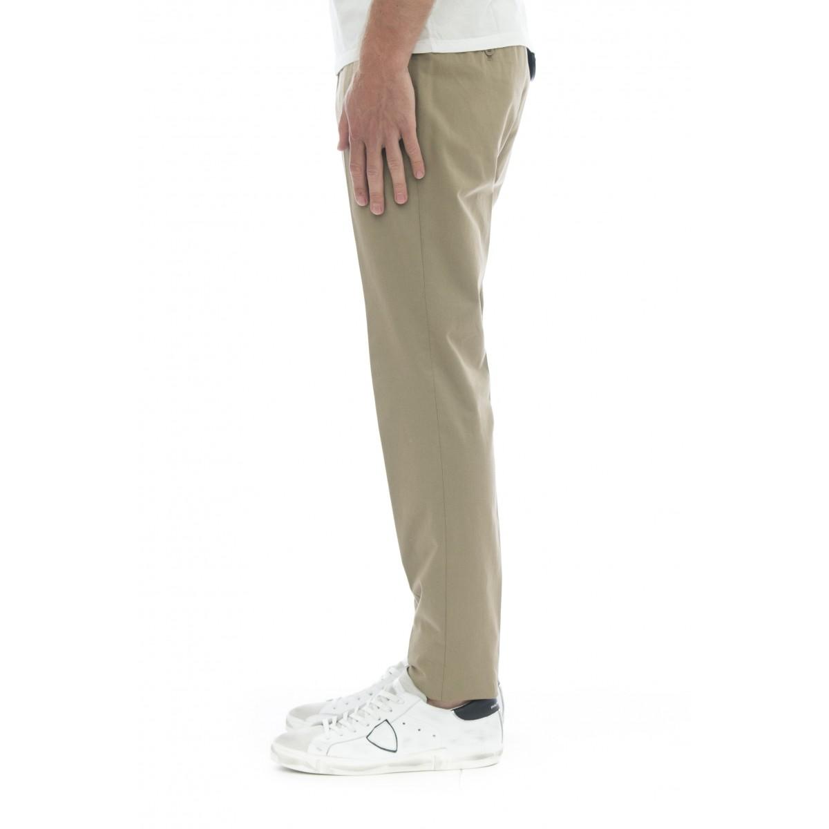Pantalone uomo - 1gw30 9223j tessuto solaro lavorto