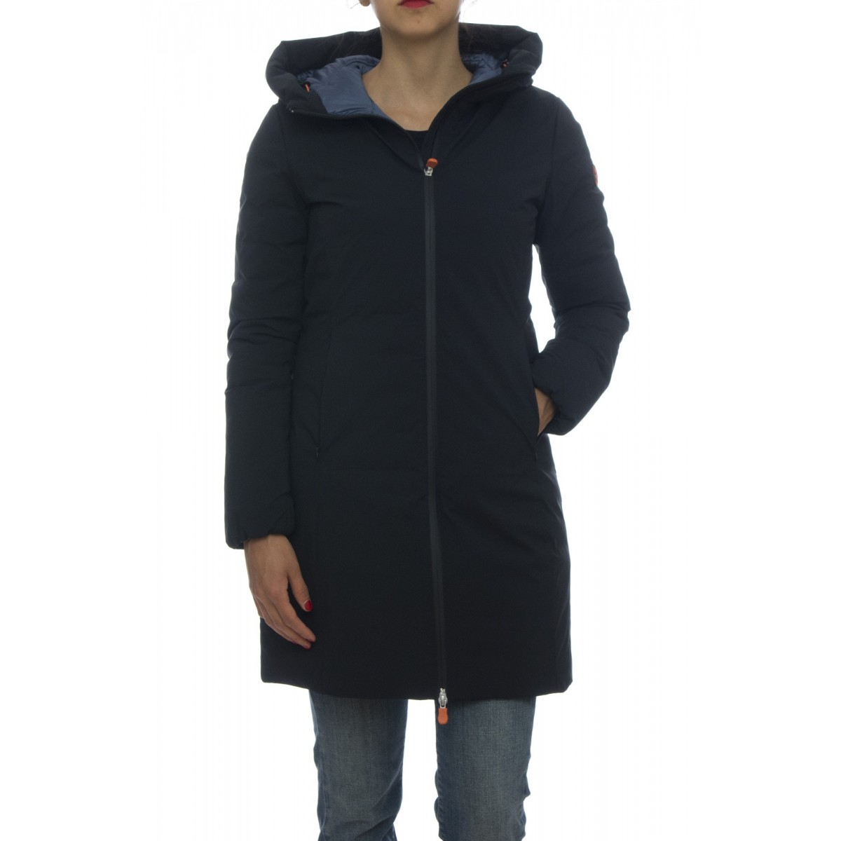 Long downjacket - D4306W MATT5 waterproof