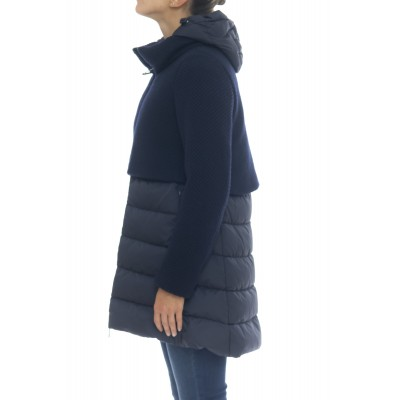 Woman Down Jacket - PI0822D 33220_  grain of rise + nylon chamionx italy