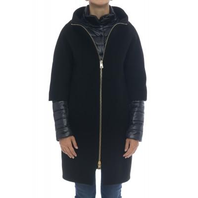 Woman Coat - CA0040DM01 39601 diagonal Wool - made in Italy