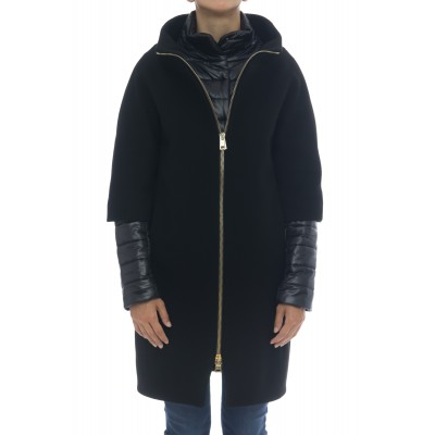Cappotto Donna - CA0040DM01 39601 lana diagonale made in italy
