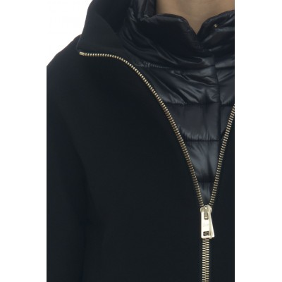 Damen Mantel - CA0040DM01 39601 diagonale Wolle - made in italy