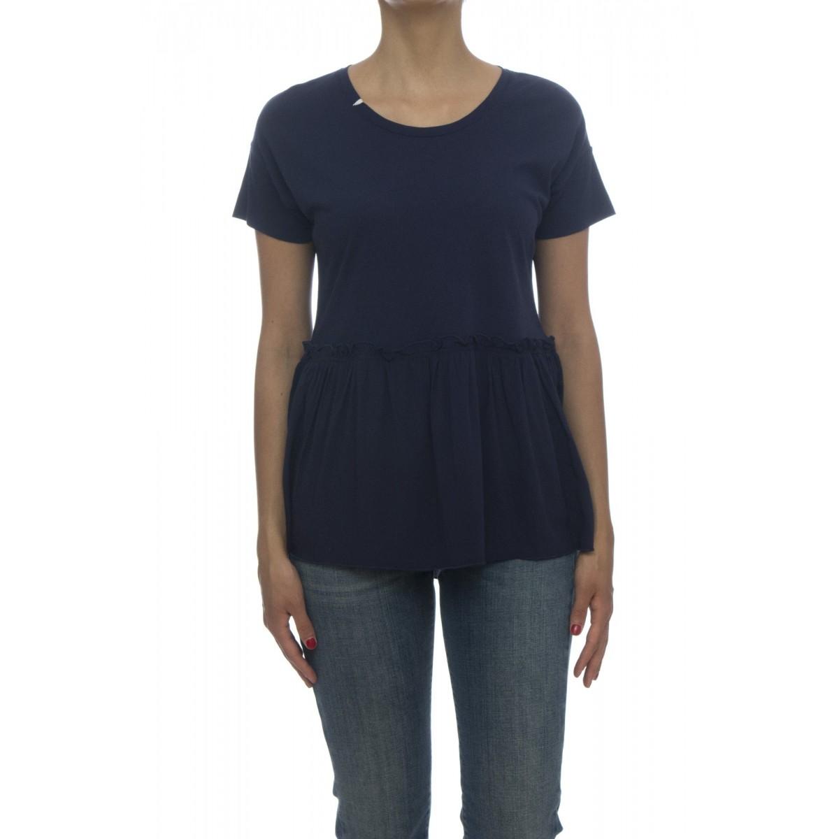T-shirt - 27208 t-shirt mc doppio tessuto