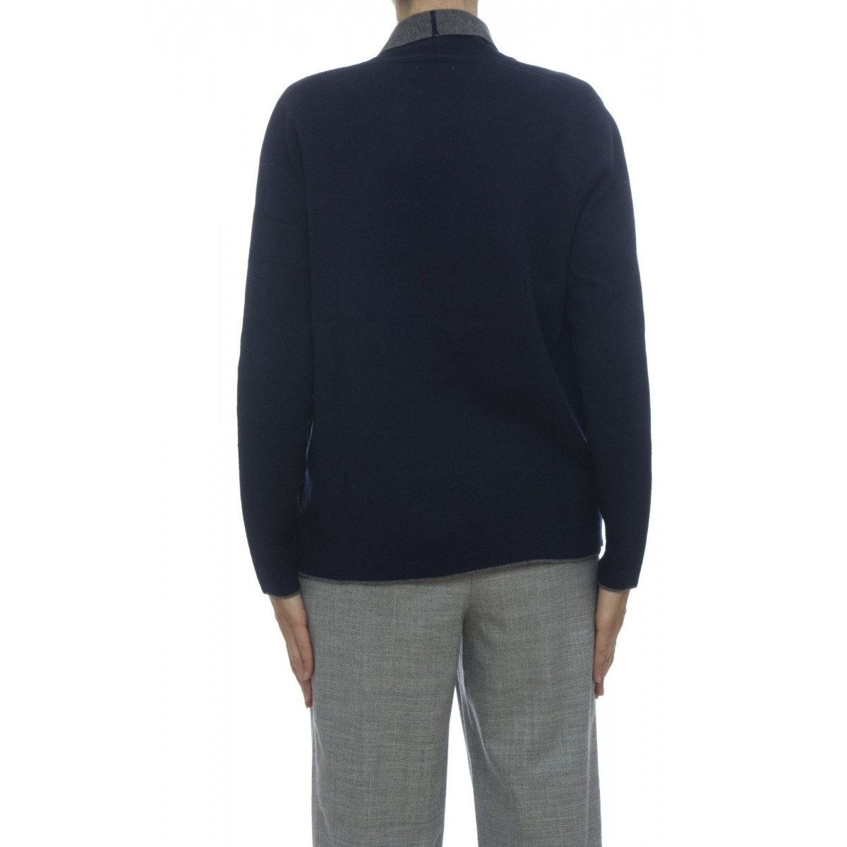 Giacca donna - 27252 giacchina bicolore