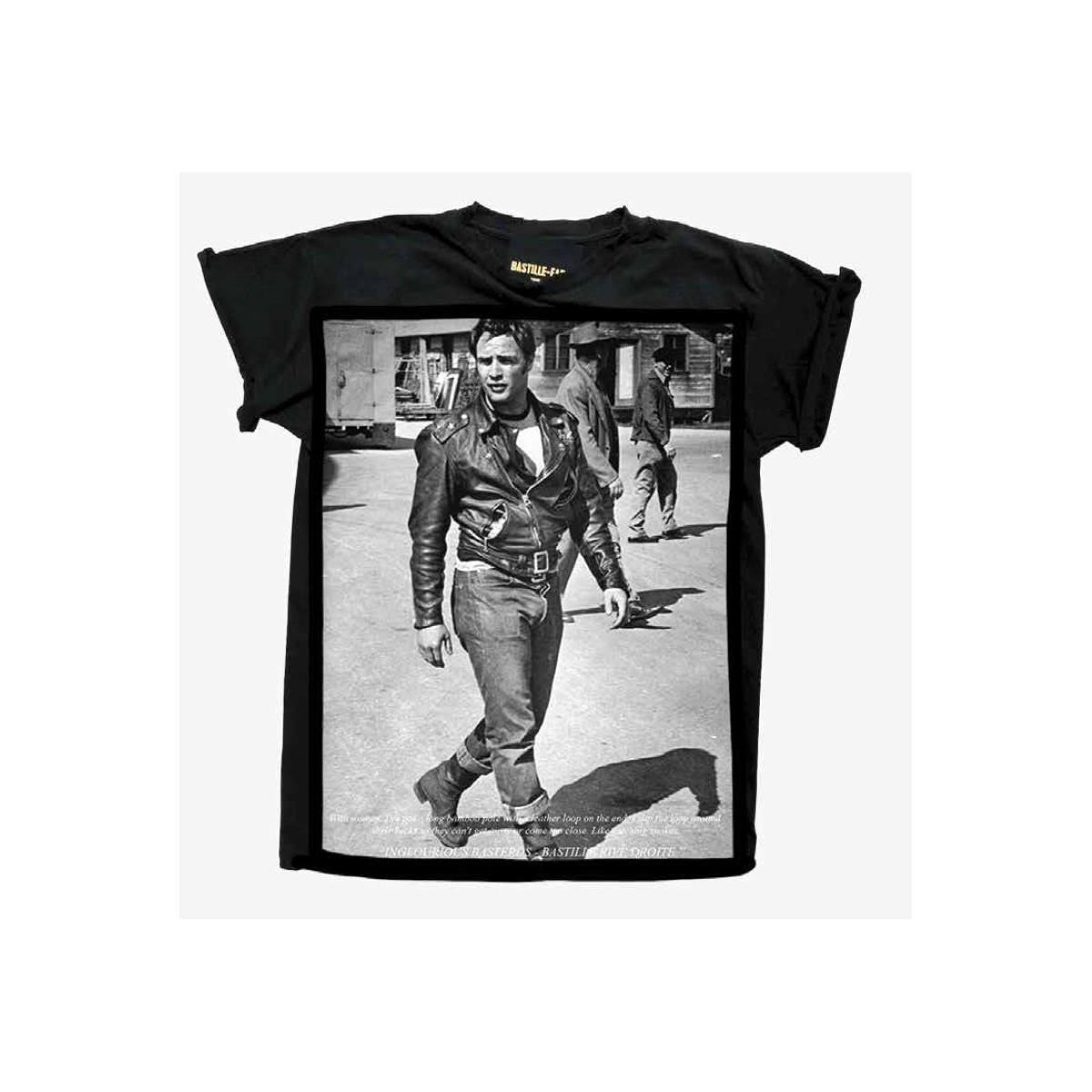 T-shirt - Icon black marlon